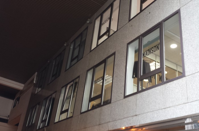 VENTILACIÓN CENTRO DE OFICINAS MADISON M.K.