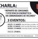 Jornadas informativa REPARTO DE CONSUMOS Y EFICIENCIA ENERGÉTICA EN COMUNIDADES DE VECINOS