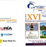 Colaboración XVI Ciclo conferencias – Marzo 2018  – ACADEMIA CALVO