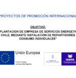 """PROYECTO """"PINT"""" APOYO A LA PROMOCIÓN INTERNACIONAL Y LA DIVERSIFICACIÓN DE LOS MERCADOS DE LAS EMPRESAS DEL PRINCIPADO DE ASTURIAS."""
